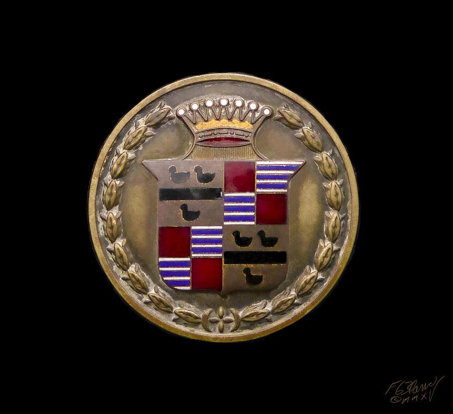 1920 Cadillac Emblem