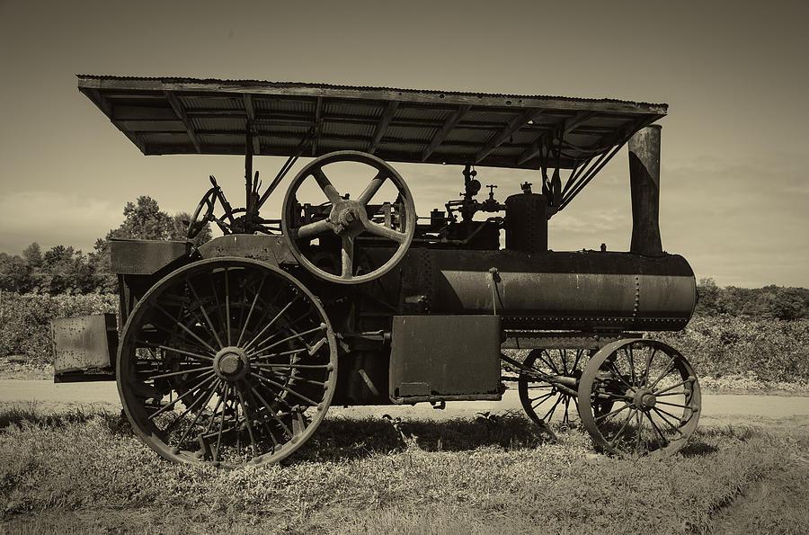 1921 Aultman Taylor Tractor Photograph