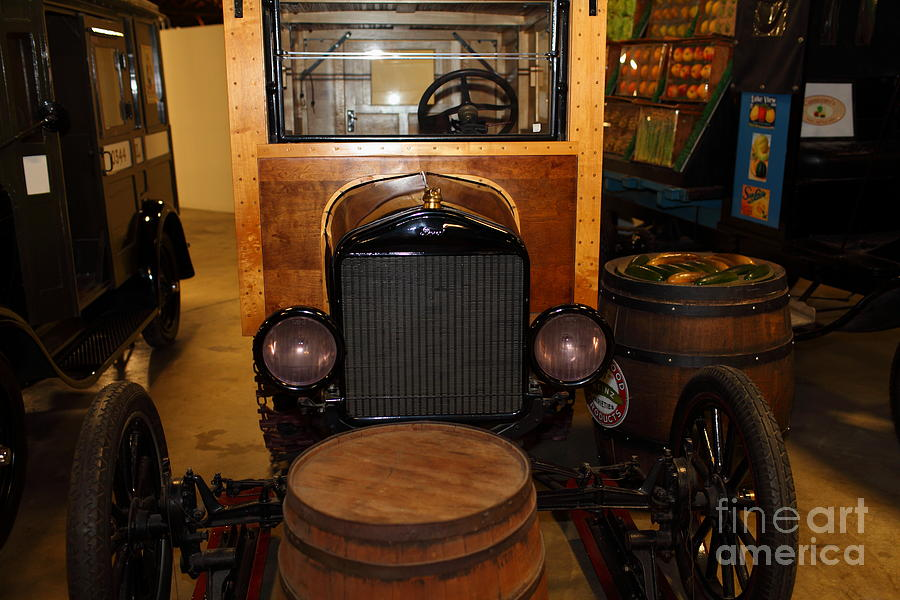 1921 Ford Model T Snowmobile 5d25582 Photograph