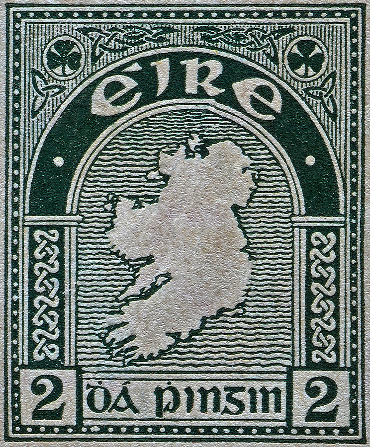 1922 Ireland Eire Stamp is a photograph by Bill Owen which was ...