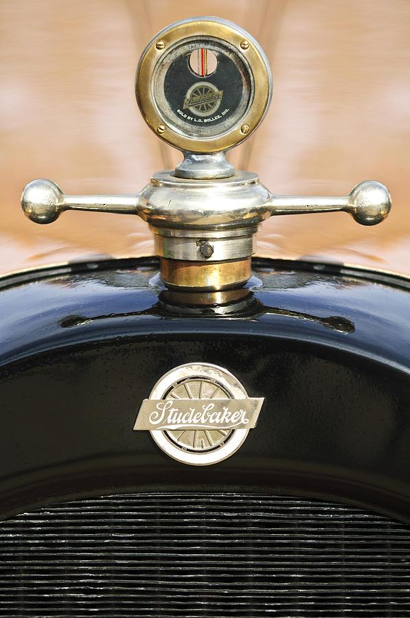 1922 Studebaker Touring Hood Ornament Photograph