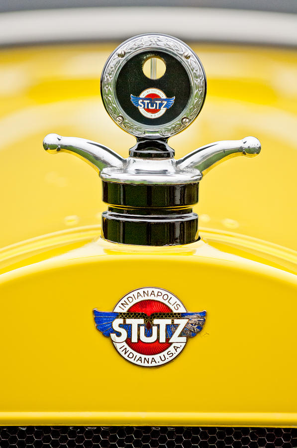 1923 Stutz Kldh Bearcat Hood Ornament Photograph