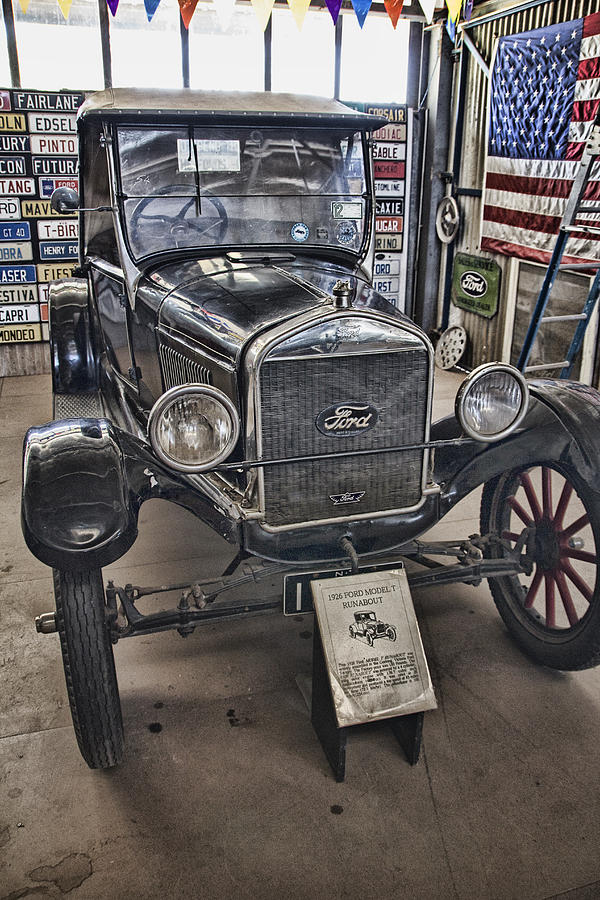 1926 Ford Model T Runabout Photograph