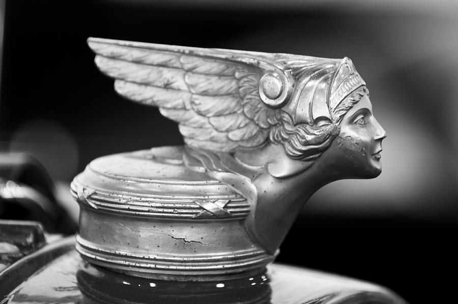 1928 Buick Custom Speedster Hood Ornament 3 Photograph