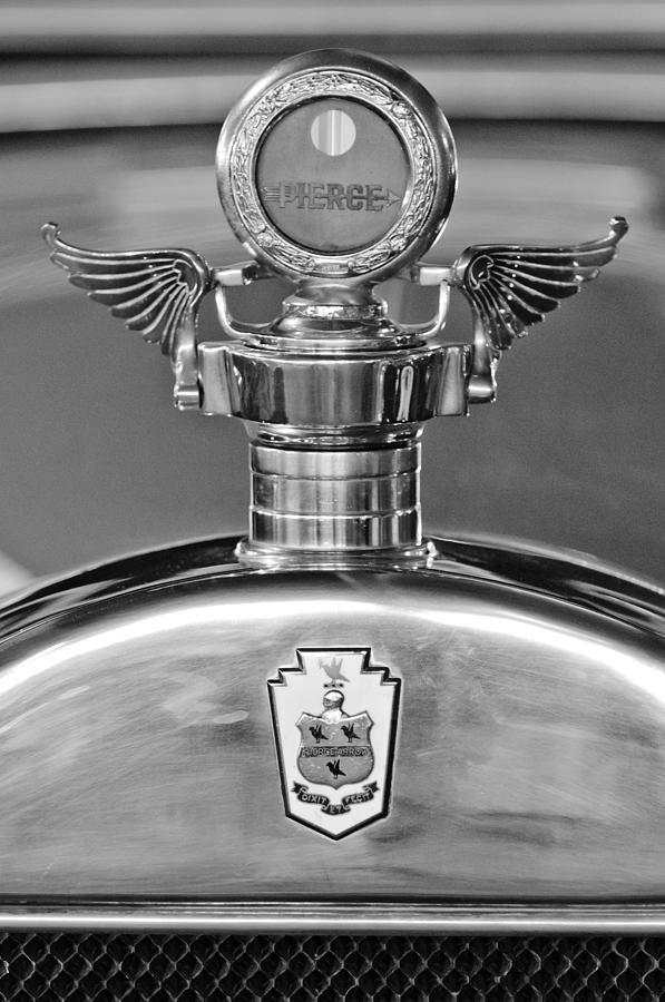 1928 Pierce-arrow Hood Ornament 2 Photograph