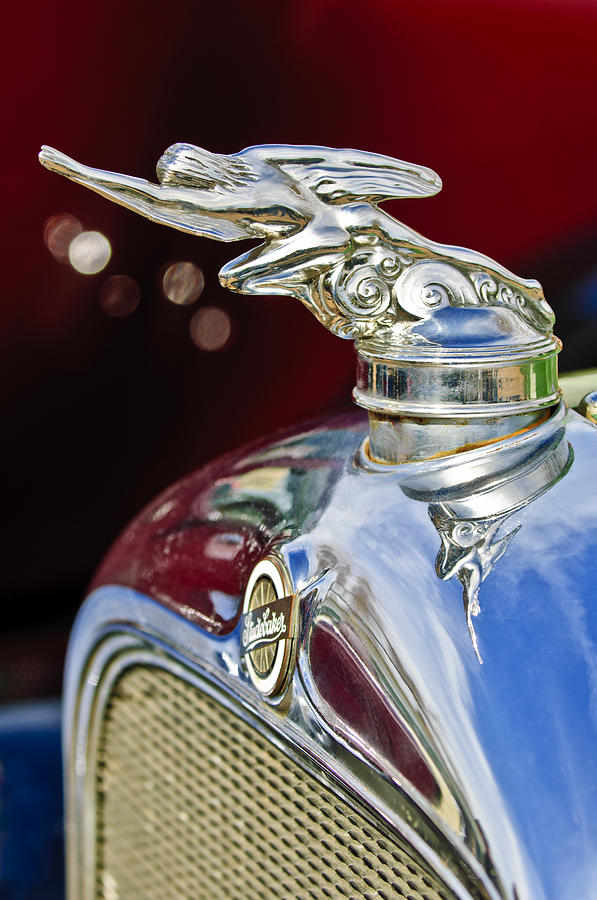 1928 Studebaker Hood Ornament 2 Photograph