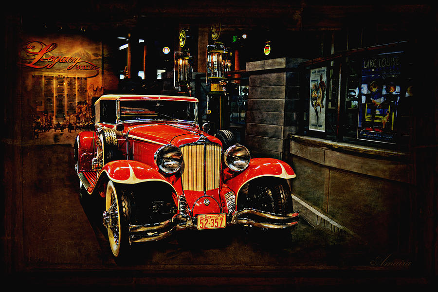 Old Car Photograph - 1931 Cord L-29 by Maria Angelica Maira