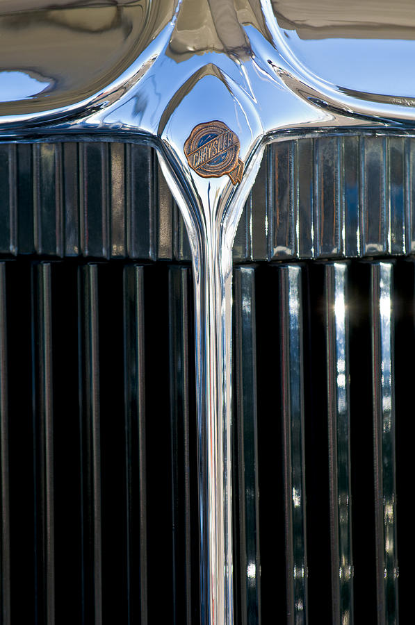 1932 Chrysler Hood Ornament Photograph  - 1932 Chrysler Hood Ornament Fine Art Print