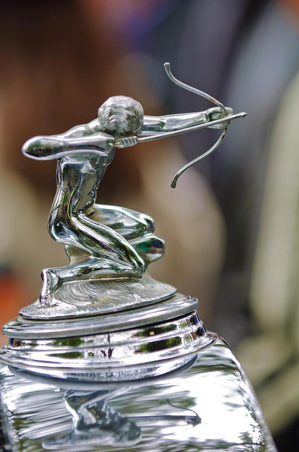 1933 Pierce-arrow 1236 2-door Convertible Coupe Hood Ornament Photograph