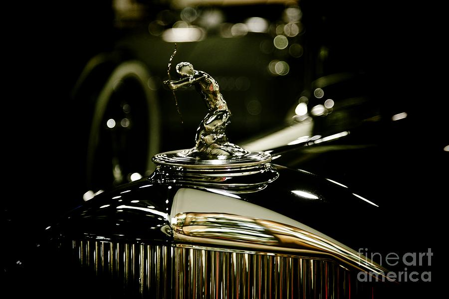 1933 Pierce Arrow Hood Ornament Photograph