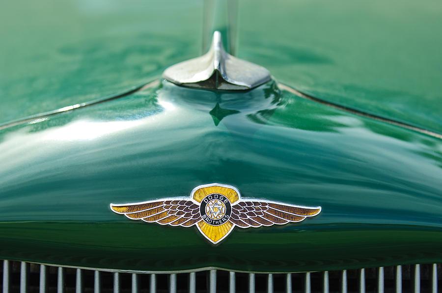 1934 Dodge Hood Ornament Emblem Photograph