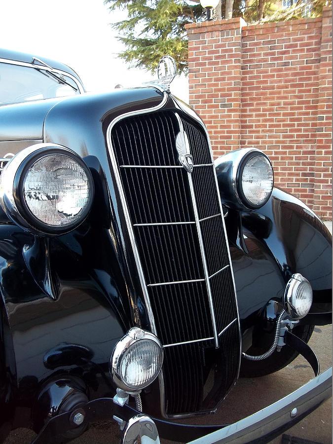 1935 plymouth deluxe 4 door sedan photograph by stephan toman for 1935 plymouth 4 door sedan