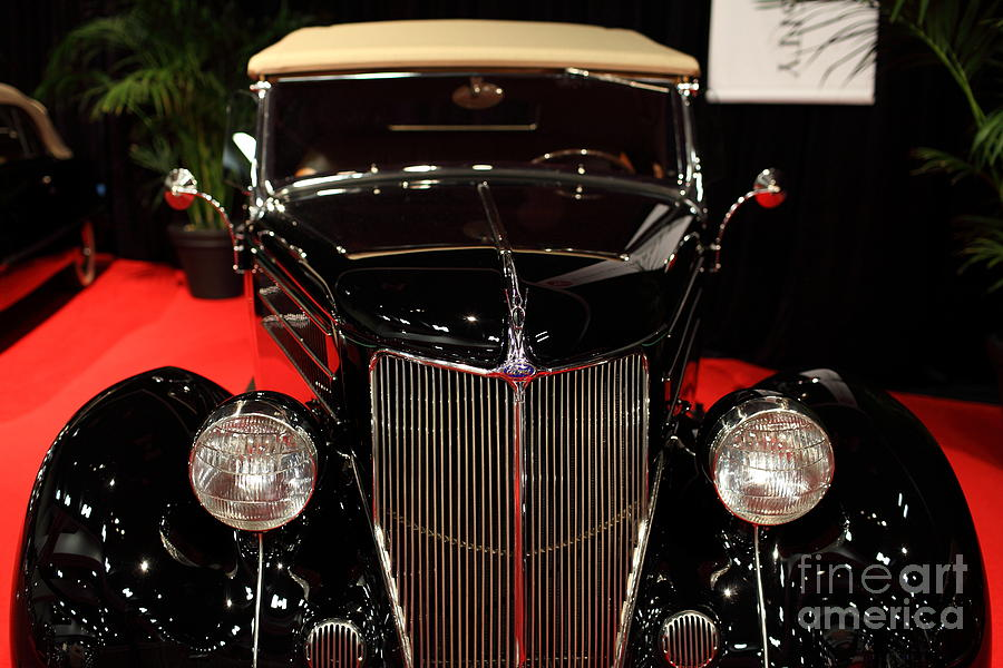 1936 Ford Deluxe Roadster - 5d19964 Photograph