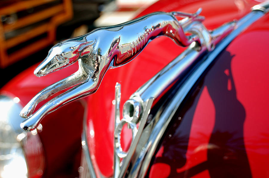 Greyhound Car Hood Ornament Ford