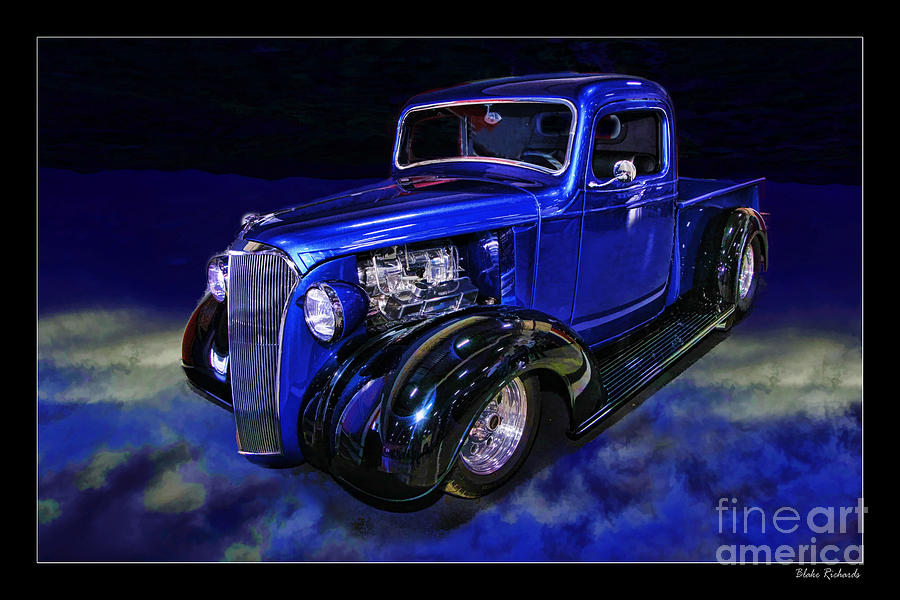1937 Chevrolet Pickup Truck Photograph