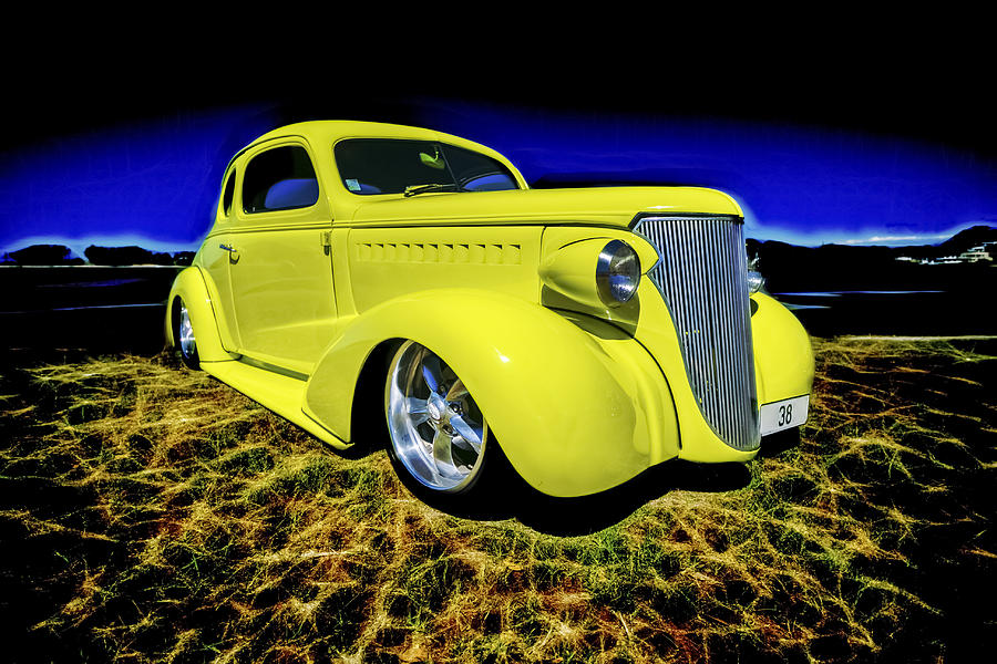 1938 Chevrolet Coupe Photograph  - 1938 Chevrolet Coupe Fine Art Print