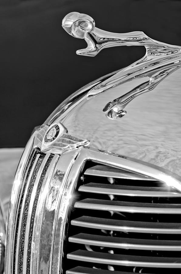 1938 Dodge Ram Photograph - 1938 Dodge Ram Hood Ornament 4 by Jill Reger