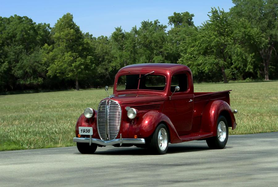 1938 ford pickup hot rod photograph by tim mccullough