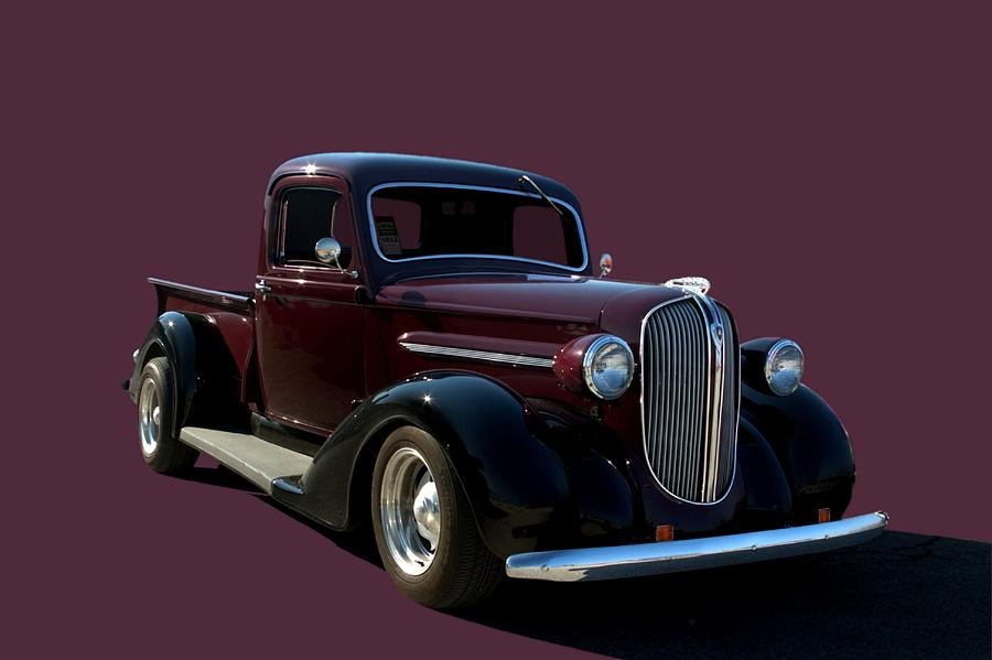 1938 Plymouth Hot Rod Pickup Truck Photograph