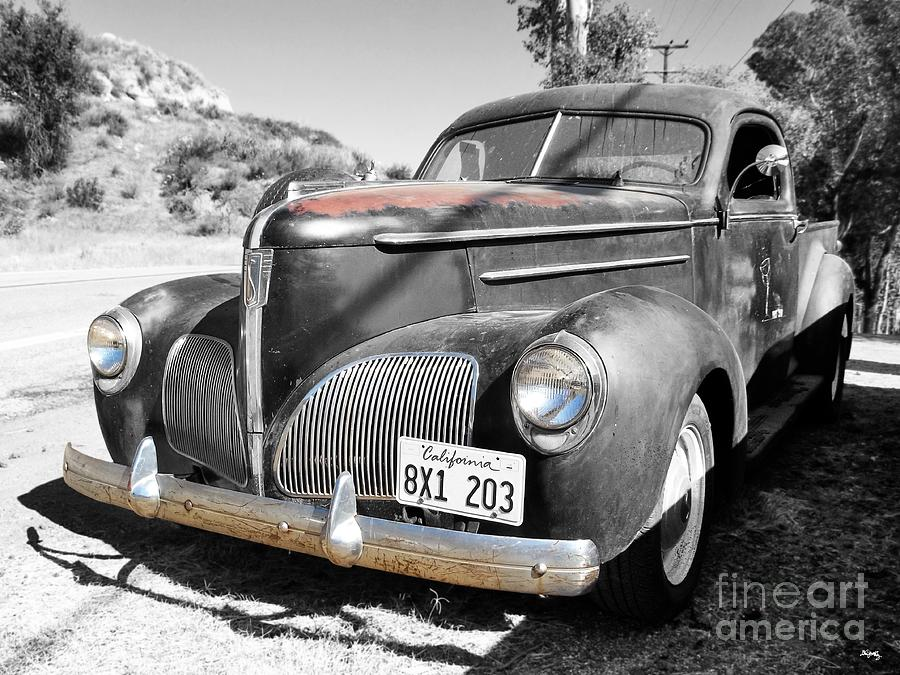 1939 Studebaker Coupe Truck Photograph