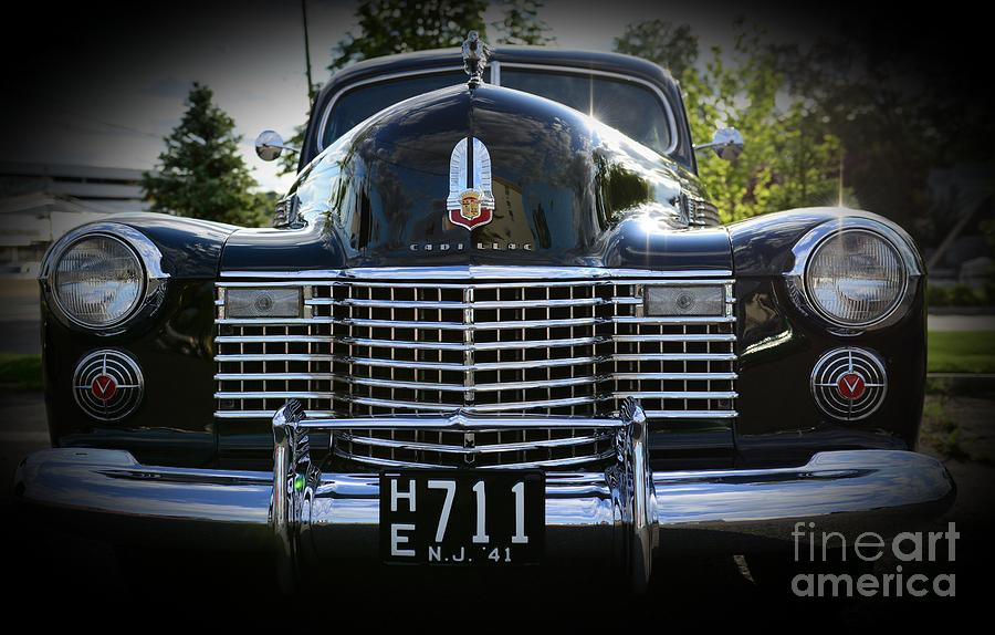 1941 Cadillac Front End Photograph