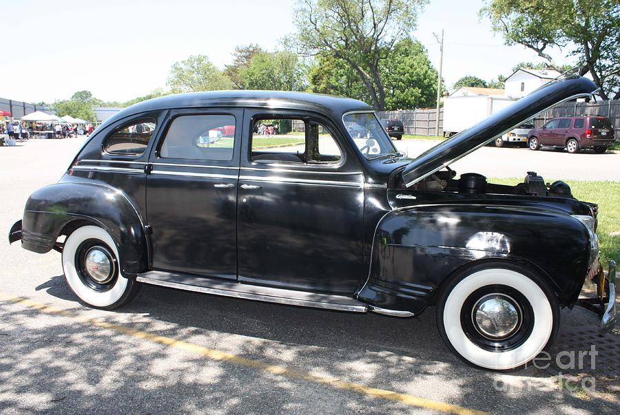 1941 plymouth four door sedan photograph by john telfer