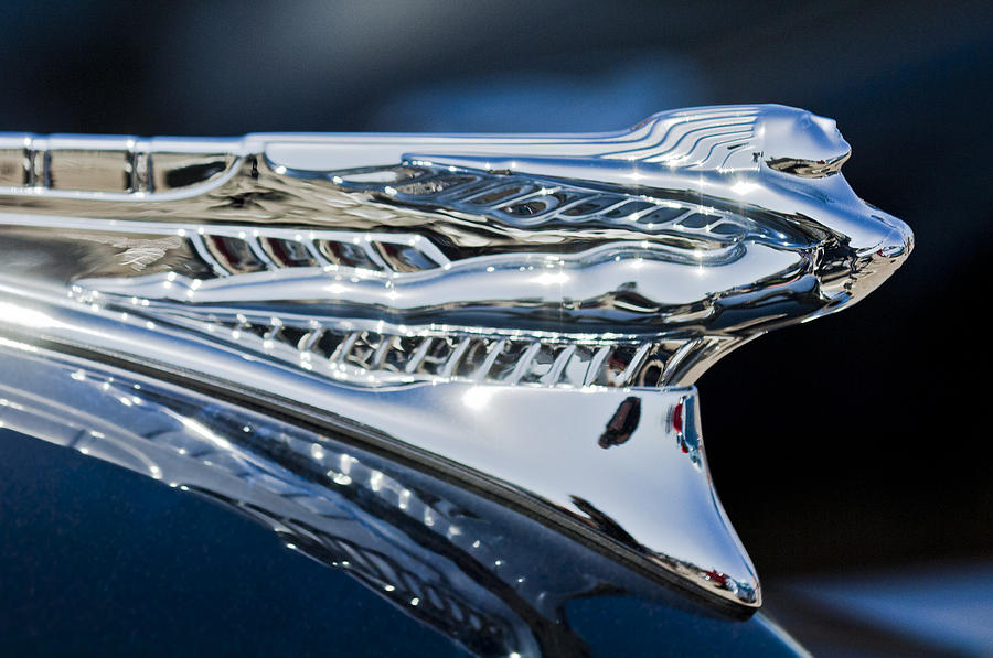 1946 Desoto Hood Ornament Photograph