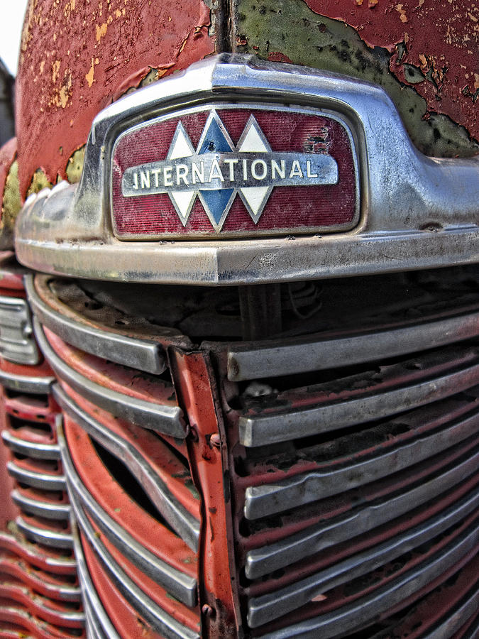 1946 International Harvester Truck Grill Photograph