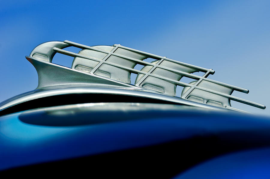 1946 Plymouth Hood Ornament Photograph