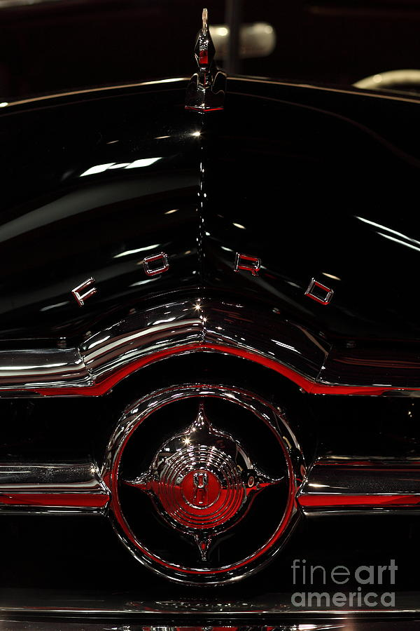 1949 Ford Custom Convertible Coupe - 5d20082 Photograph  - 1949 Ford Custom Convertible Coupe - 5d20082 Fine Art Print