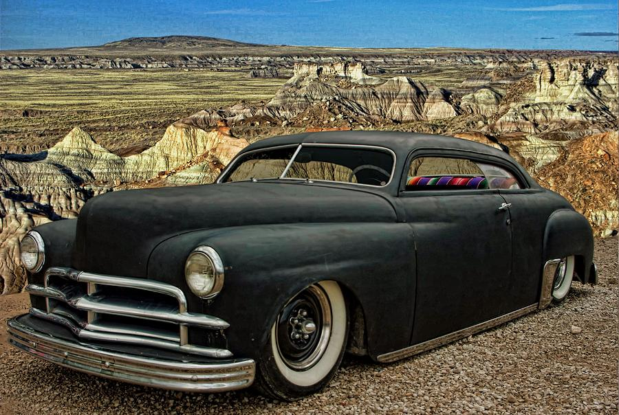 1949 Plymouth Low Rider Photograph  - 1949 Plymouth Low Rider Fine Art Print