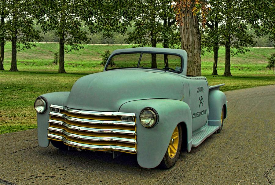 1950 Chevrolet Custom Convertible Pickup Truck  Photograph