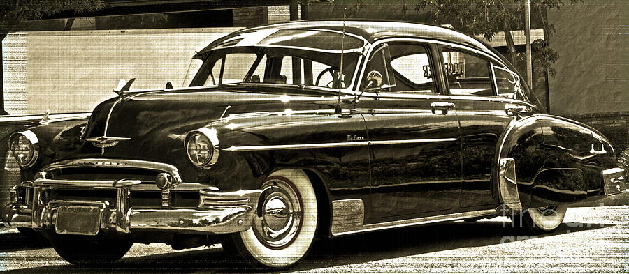 1950 Chevy Photograph - 1950 Chevrolet by Gwyn Newcombe