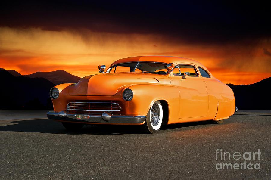 1950 Mercury boulevard Cruiser Photograph