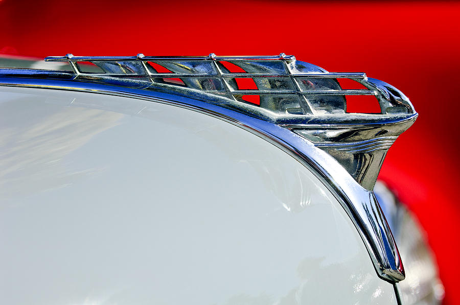 1950 Plymouth Hood Ornament 3 Photograph  - 1950 Plymouth Hood Ornament 3 Fine Art Print