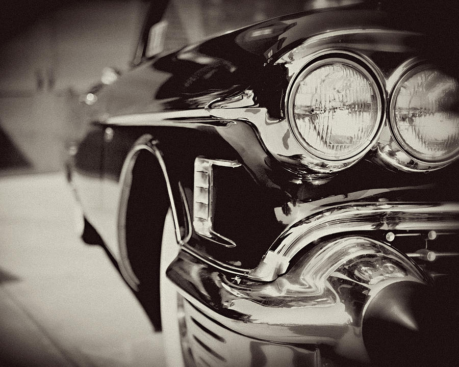Lisa Russo Photograph - 1950s Cadillac No. 1 by Lisa Russo