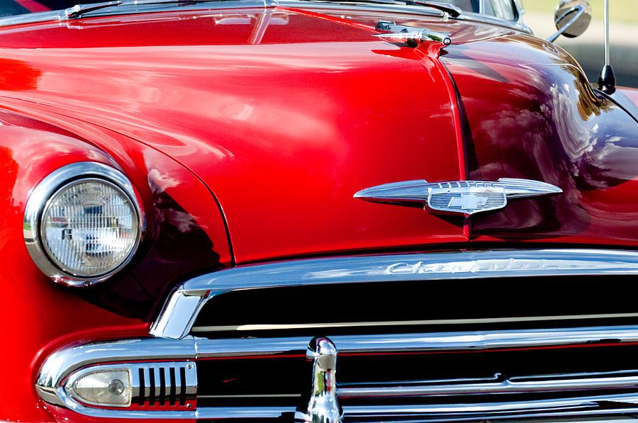 1951 Chevrolet Grille Emblem Photograph