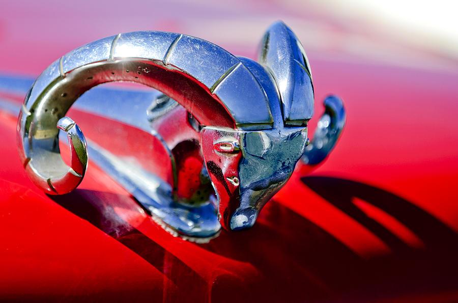 1952 Dodge Ram Hood Ornament 2 Photograph