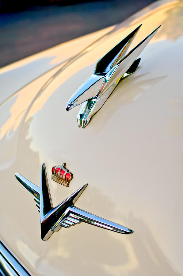 1953 Chrysler Imperial Custom Hood Ornament Photograph
