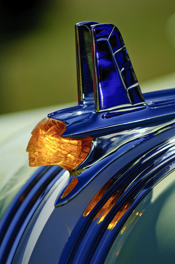 1953 Pontiac Hood Ornament 3 Photograph