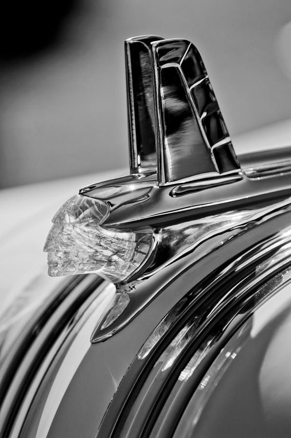 1953 Pontiac Hood Ornament 4 Photograph