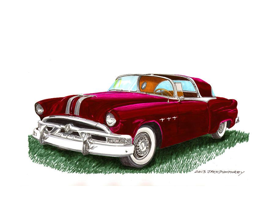 1953 Pontiac Parisienne Concept Painting