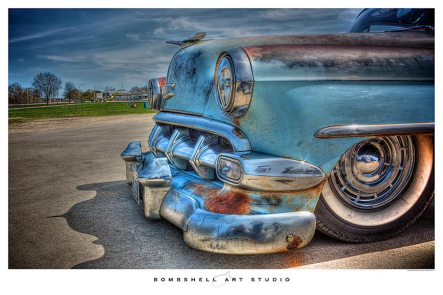 Hot Rod Photograph - 1954 Chevy by Heath Hartwig