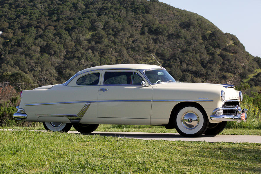 1954 Hudson Hornet 2 Door Coupe is a photograph by Brooke Roby which ...
