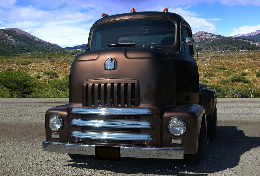 1954 International Harvester Coe Pickup Truck Photograph