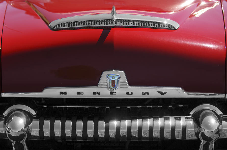 1954 Mercury Monterey Hood Ornament Photograph