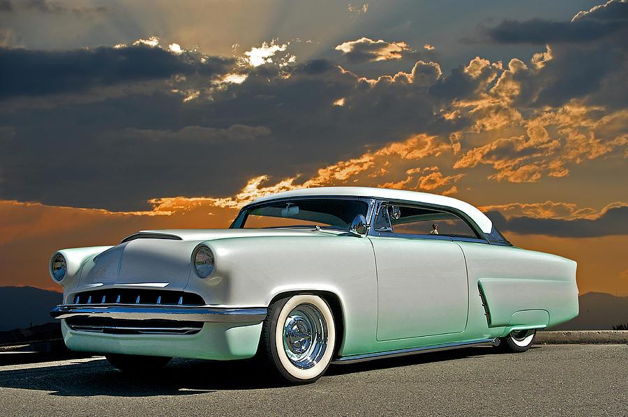 Auto Photograph - 1954 Mercury Retro Custom by Dave Koontz