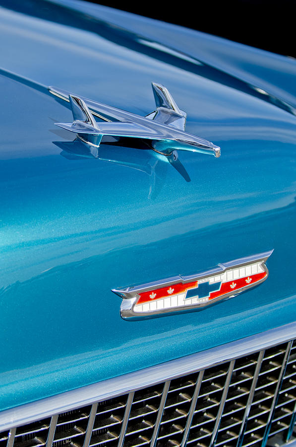 1955 Chevrolet Belair Hood Ornament 7 Photograph