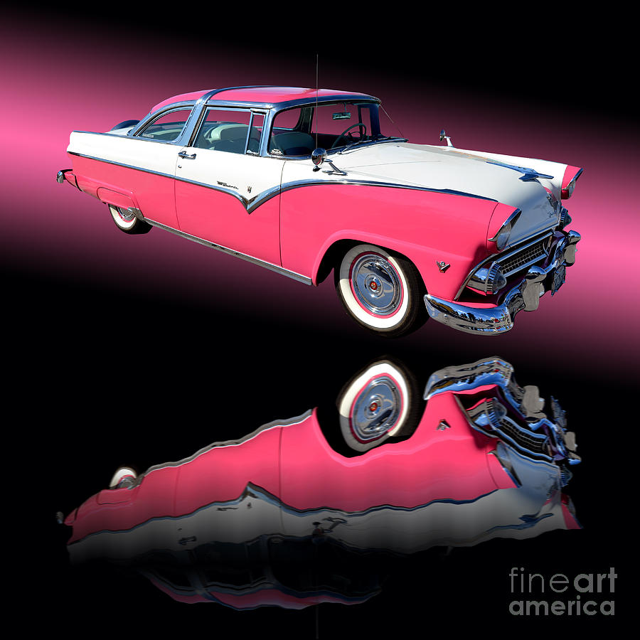1955 Ford Fairlane Crown Victoria Photograph