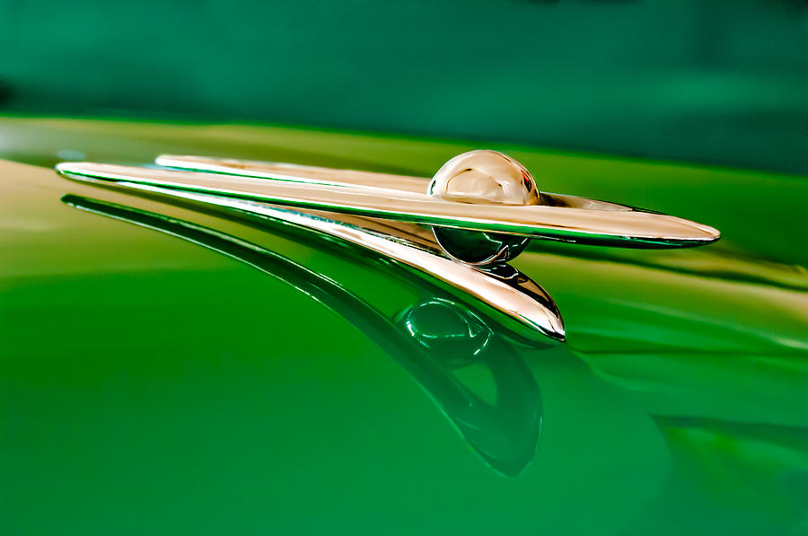 1955 Packard Clipper Hood Ornament 3 Photograph  - 1955 Packard Clipper Hood Ornament 3 Fine Art Print